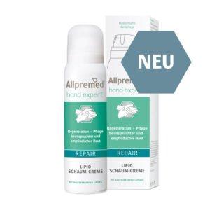 Allpremed hand expert Lipid Schaum-Creme REPAIR